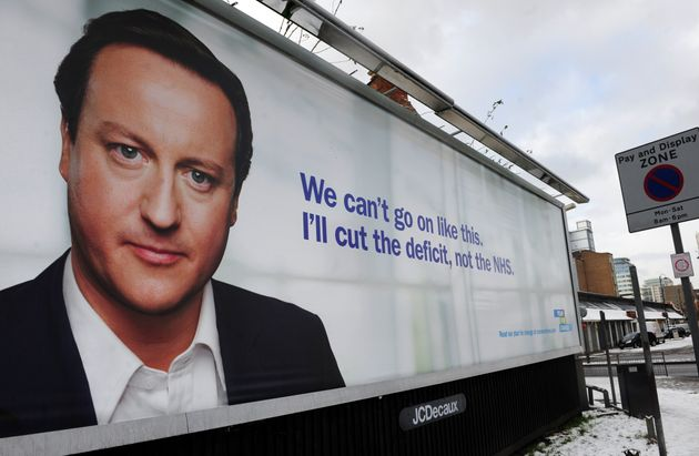 Conservative Party election slogan in 2010: