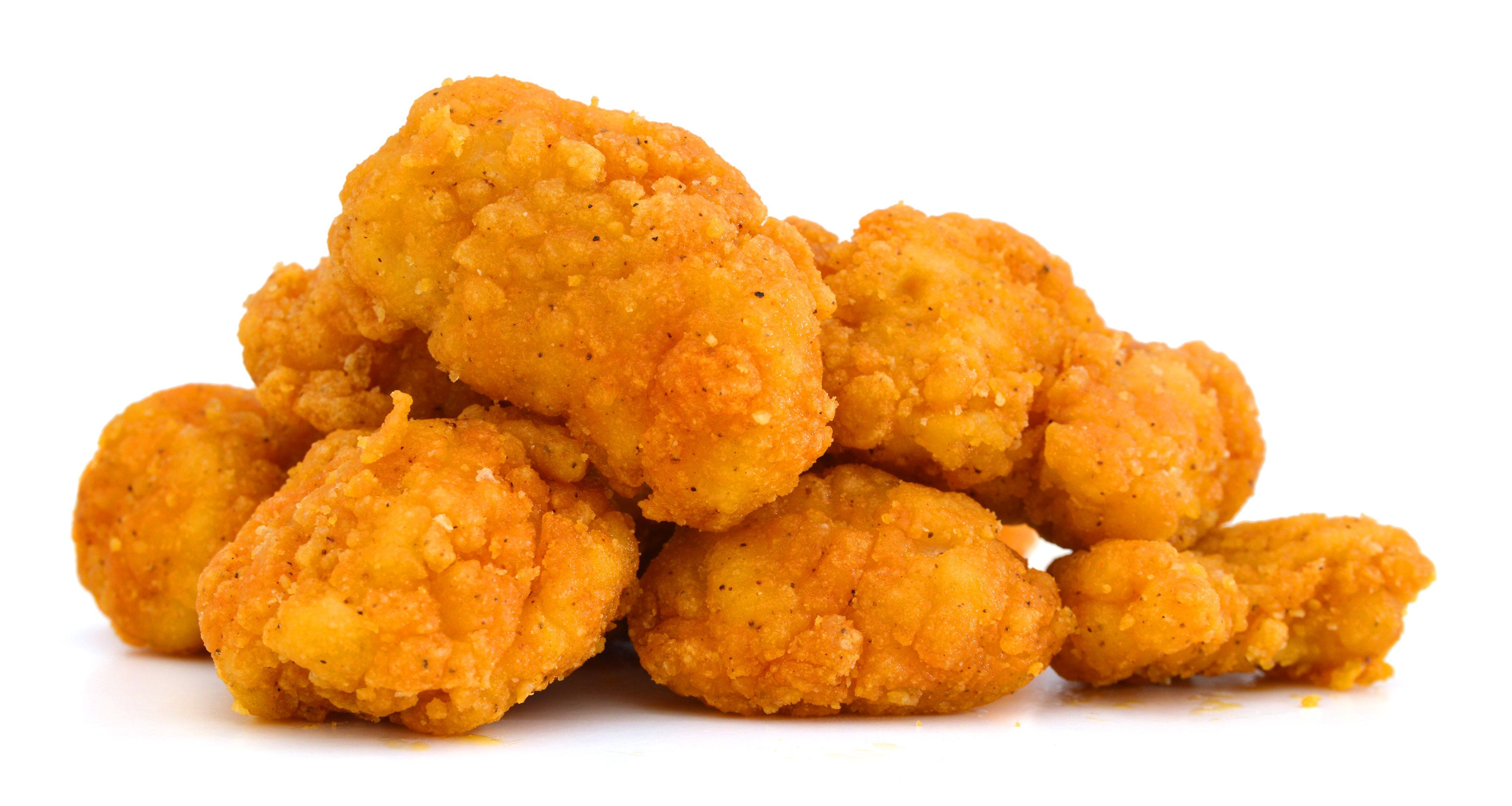 image of the fried popcorn...