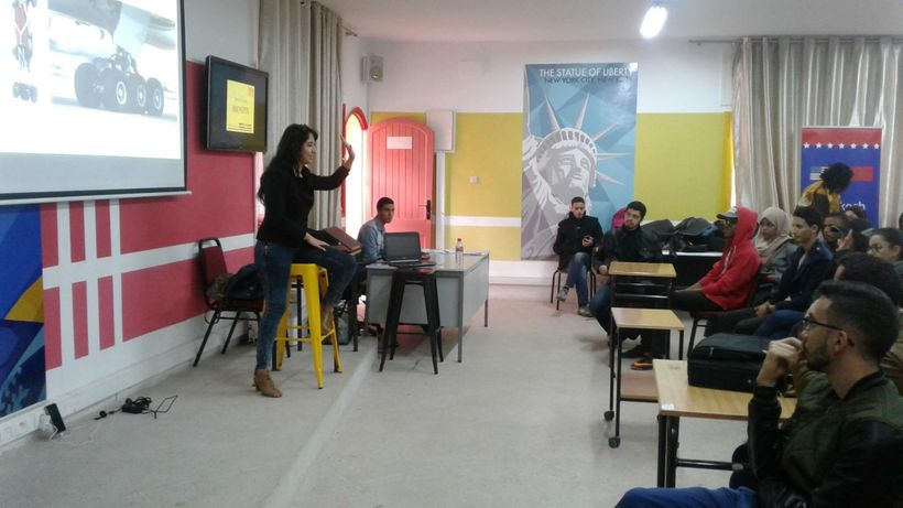 Tribe of Why's Imane on tour of universities across Morocco