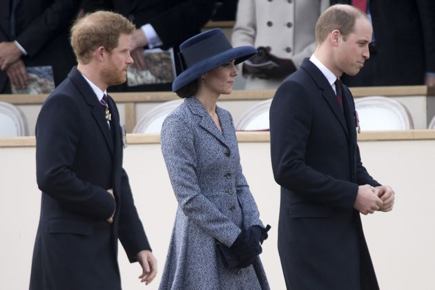 The Duke and Duchess of Cambridge and Prince Harry said: 'We have seen time and time agin that shattering...