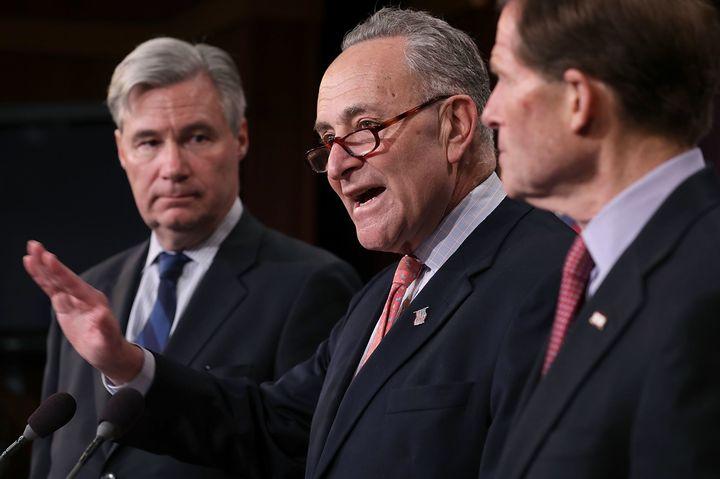 Senate Minority Leader Chuck Schumer (D-N.Y.) says Republicans will regret it if they change the rules to require 51 vot