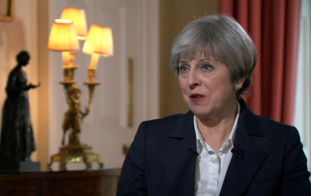 Theresa May gave little away during her interview with Andrew