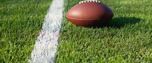 CLOSE TO PLAYING FIELD WHITE COLOR CLOSEUP AT THE EDGE OF COMPETITION SPORT ANTICIPATION SUNNY SINGLE LINE AMERICAN FOOTBALL SPORT AMERICAN FOOTBALL
