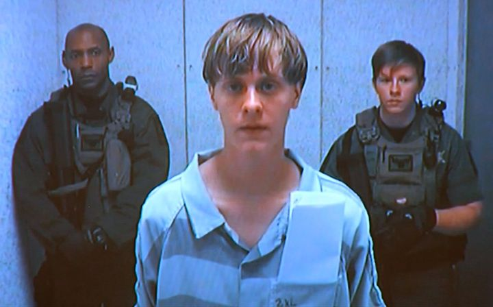 Dylann Roof murdered civilians at a historic black South Carolina church but was not indicted on terror charges.
