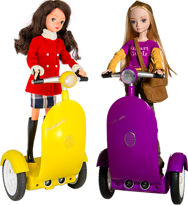 <strong>SmartGurlz, the world's first coding robots for girls.</strong>