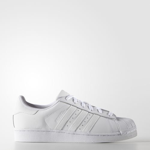 Adidas women's leather Superstar shoes, $80 at Adidas.com