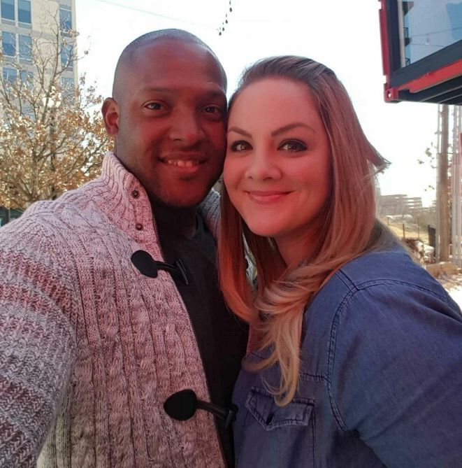 <p>DeAngelo and Sarah</p>