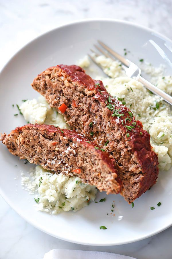 "<strong>Get the <a href=""http://www.foodiecrush.com/healthier-meatloaf-tomato-glaze/"" target=""_blank"">Healthier Meatloaf reci"