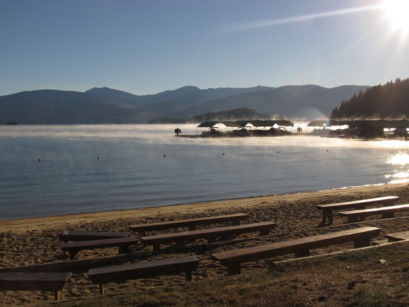 View of Priest Lake from Hill's Resort