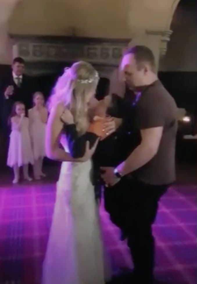 Bride's Dream To Dance With Disabled Son On Wedding Day Comes True Thanks To His Amazing