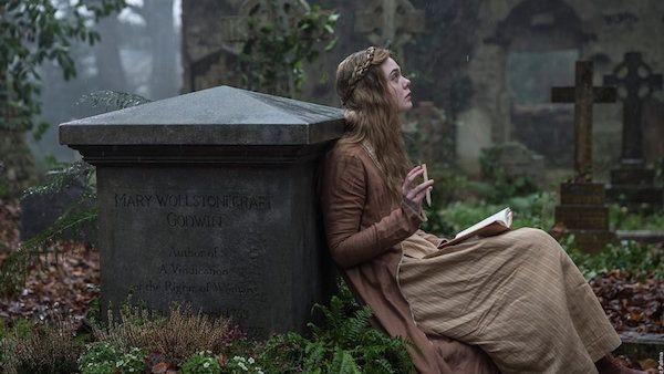 Elle Fanning in a still from 'Mary Shelley'