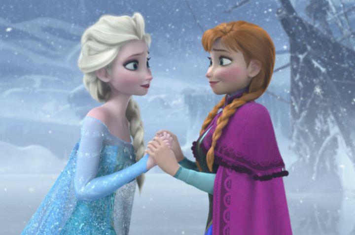 アナと雪の女王握手