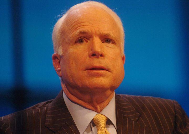 GOP Senator John McCain