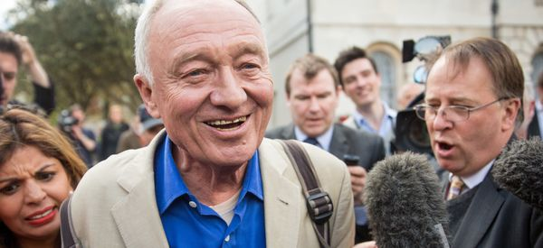 Livingstone Arrives At Labour Suspension Hearing - And Rants About Hitler
