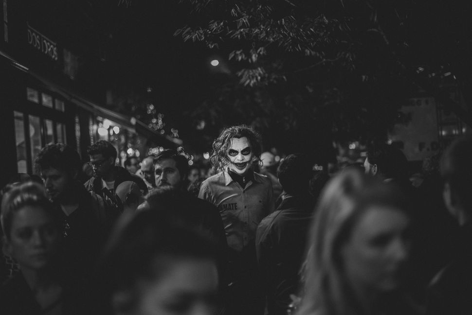 <strong>Winner: Constantinos Sofikitis from Greece</strong><br>A black and white shot of some creepiness on the street.