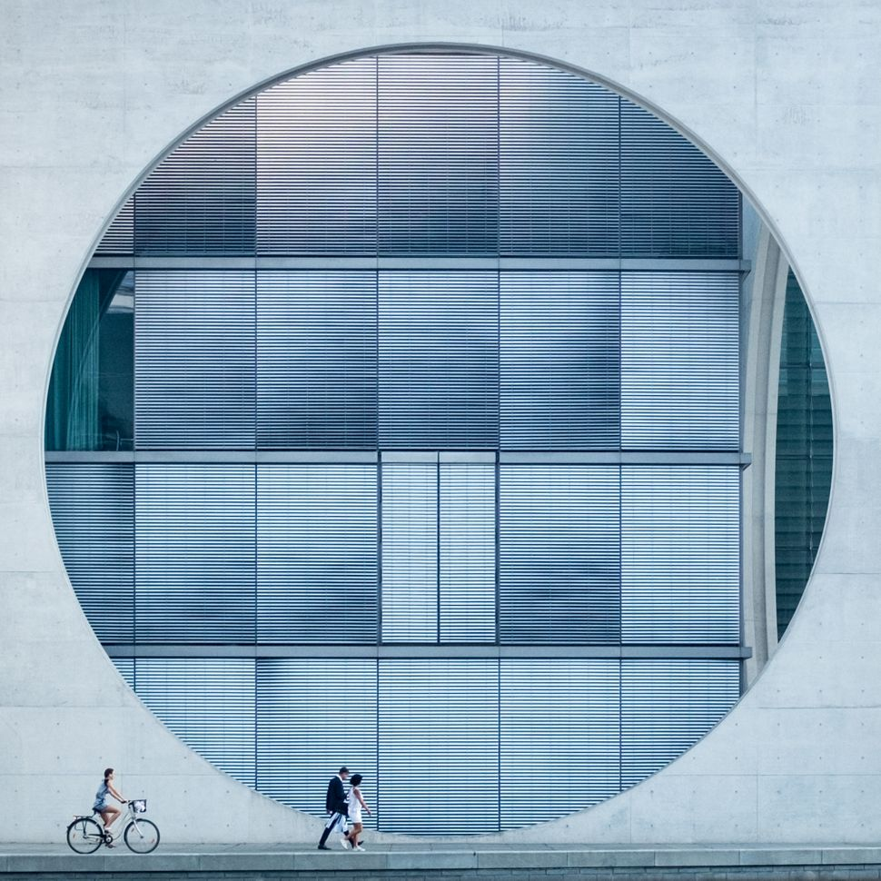 <strong>Winner: Tim Cornbill from United Kingdom<br></strong>The photo features architecture in Berlin.