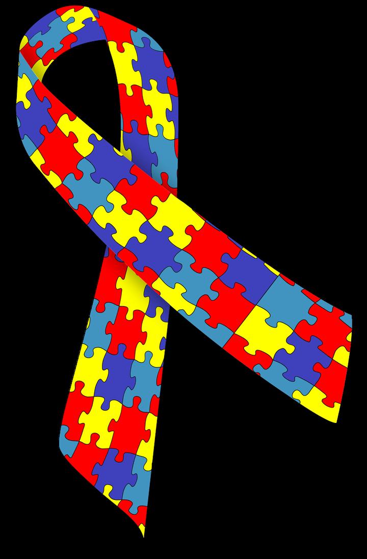 <p>Autism Puzzle Ribbon</p>