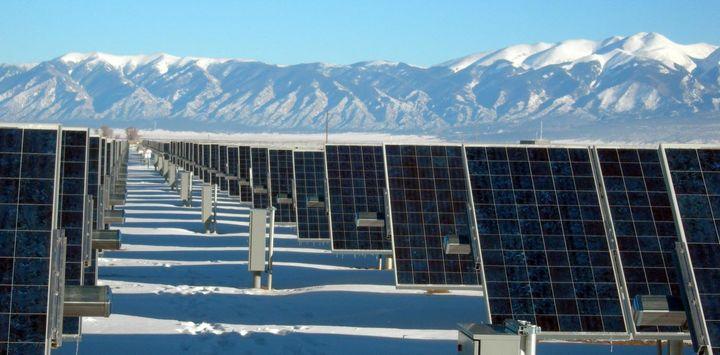 "Alamosa Photovoltaic Plan, south-central Colorado. <a rel=""nofollow"" href=""https://www.flickr.com/photos/departmentofenergy/9"
