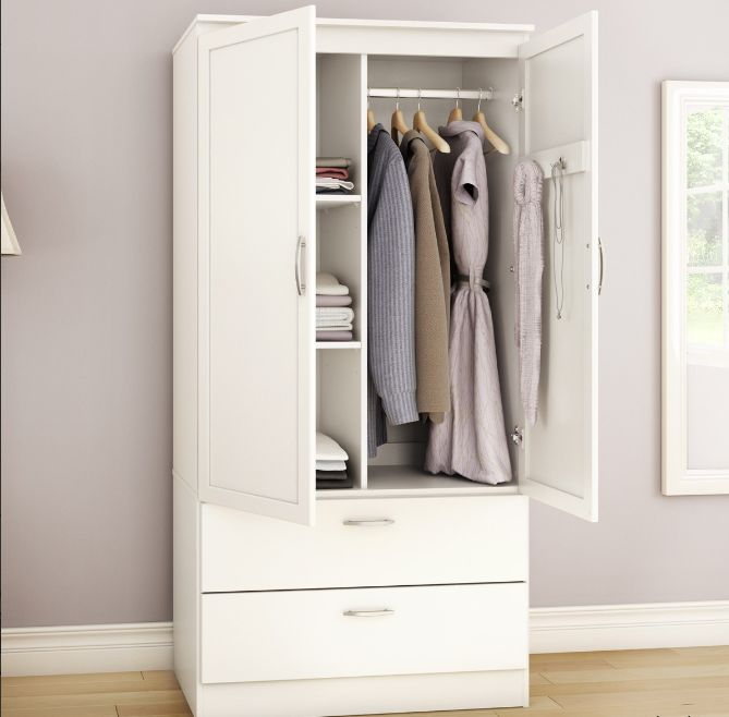 Find A Slim Armoire