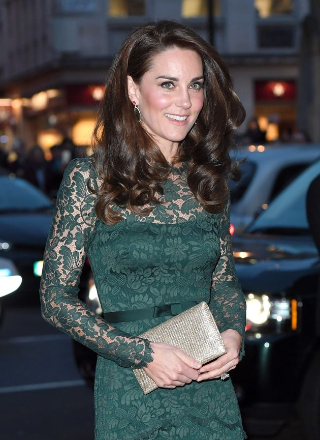 Catherine, Duchess of Cambridge attends the Portrait Gala 2017 at the National Portrait Gallery on March...