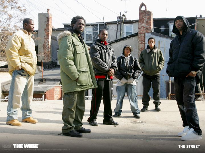 """The Wire,"" created by David Simon, first aired in 2002 and lasted for five seasons."