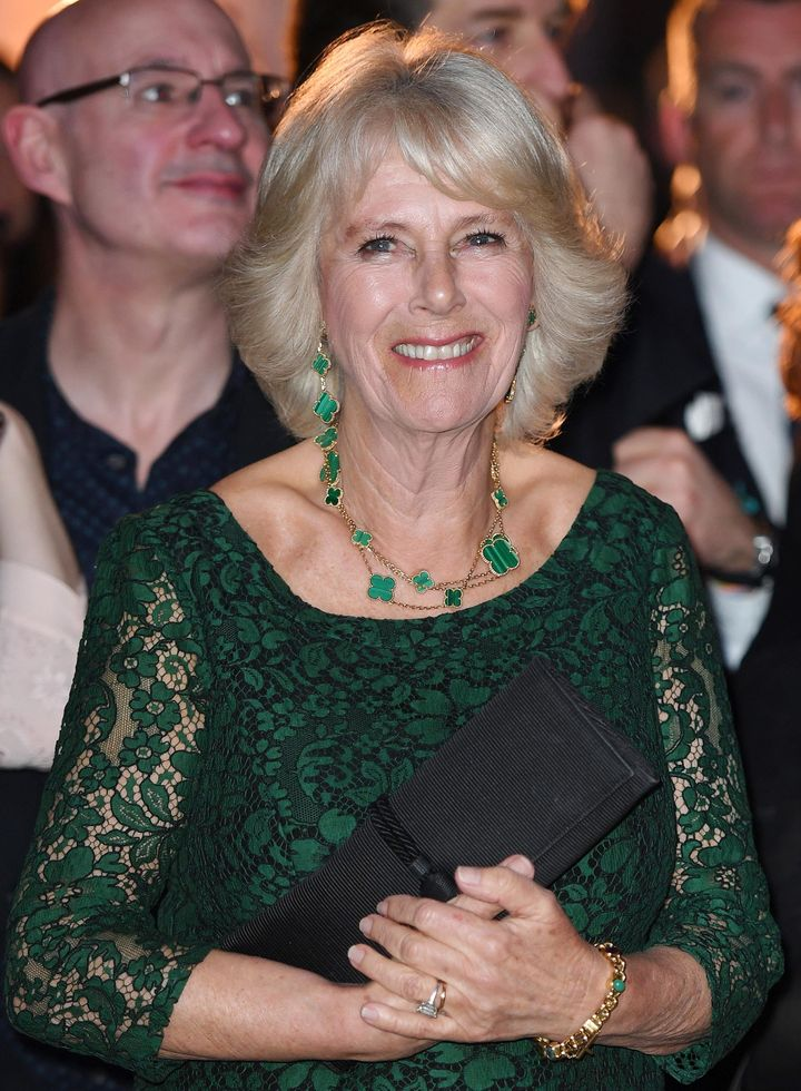 The Duchess of Cornwall attends the launch of Panama Wildlife Conservation Charity, at the Victoria and Albert Museum, London, U.K., on March 27.