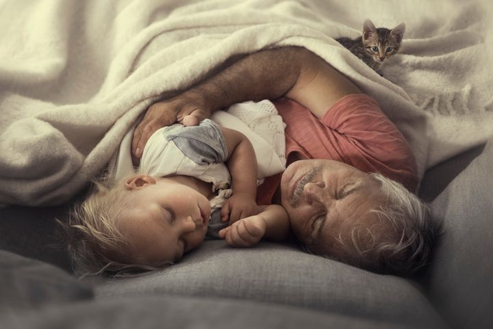 """Photographer Ivette Ivens said the moments reflected in photos of her kids and their grandparents are """"so pure and candid."""""""