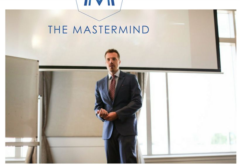 Ben Simkin , CEO of BusinessNET,  Presenting Live at his Mastermind