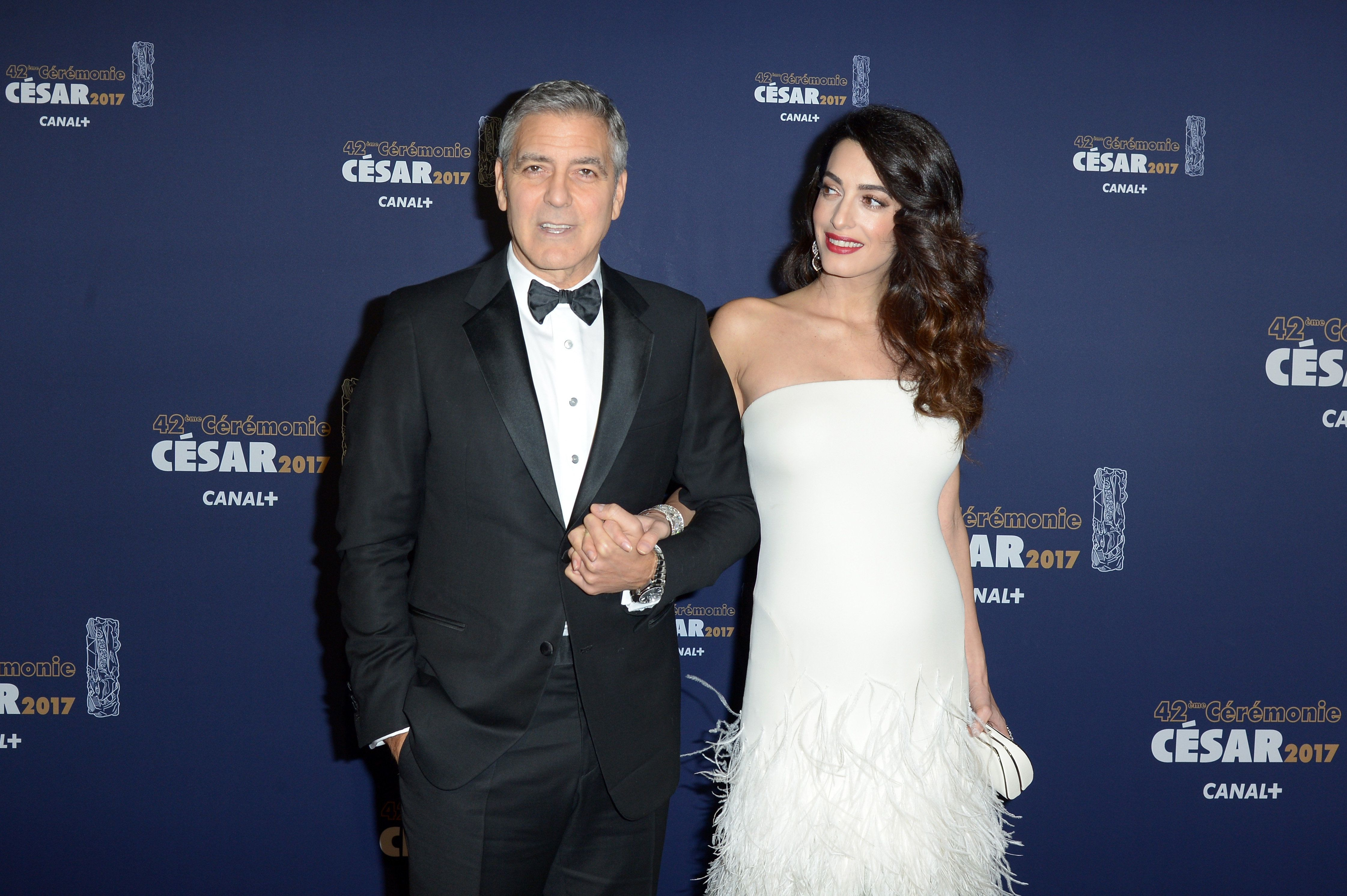 George and Amal Clooney are expecting twins.