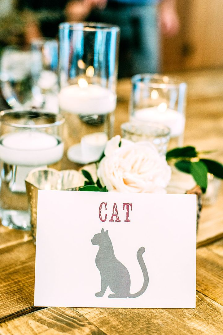 Each table was named after a different animal.