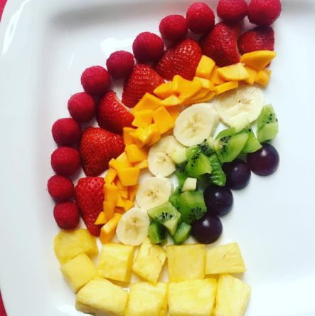 <em>See who in your family can win the race to eat a rainbow of fruits and vegetables this week and come up with a fun, healt