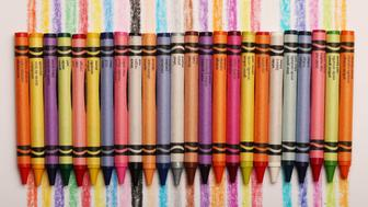 TORONTO, ON- MARCH 29  -   Friday is National Crayon Day and Crayola says it will mark the occasion by retiring one of its colours from its 24-pack. in Toronto. March 29, 2017.        (Steve Russell/Toronto Star via Getty Images)