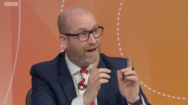 Ukip leader, Paul Nuttall, on Question