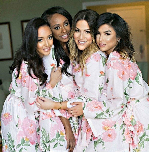 18 bridesmaid robes that are perfect for the wedding day and beyond