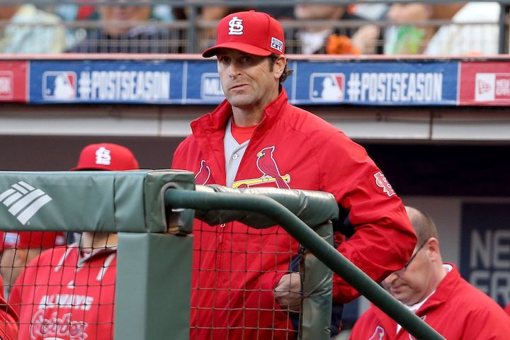 Mike Matheny, the manager for the St. Louis Cardinals.