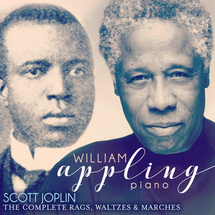 A labor of love: William Appling plays the complete solo piano music of Scott Joplin (available April 1 from  CD Baby, iTunes