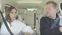 Victoria Beckham's Spice Girl Carpool Karaoke Is Here. Sort