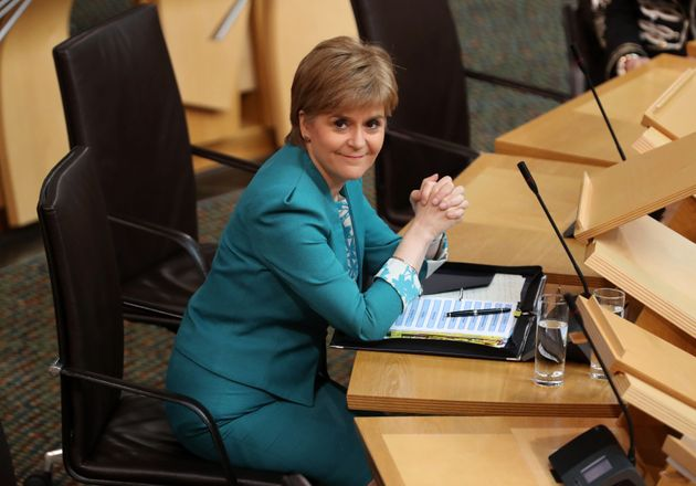 A letter signed by Nicola Sturgeon formally requesting a second Scottish independence referendum is expected...