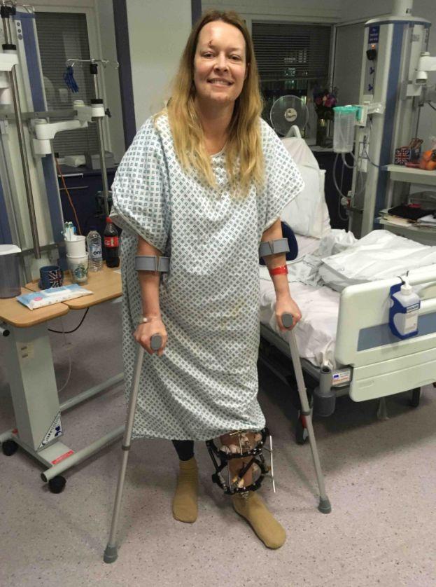 Widowed Westminster Terror Attack Survivor Smiles From Her Hospital
