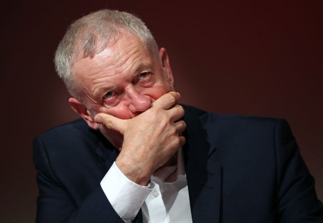 Jeremy Corbyn continues to suffer in the opinion