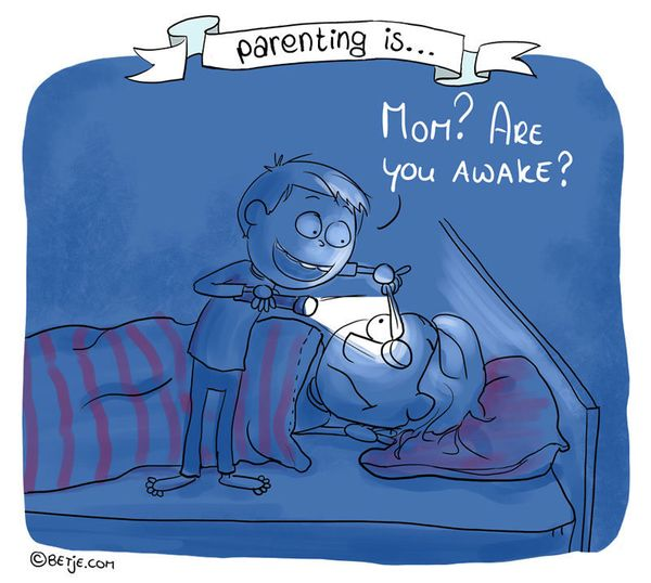 'Parenting Is ...' Comics Showcase The Highs And Lows Of Raising Kids 58de5db7140000880607295f