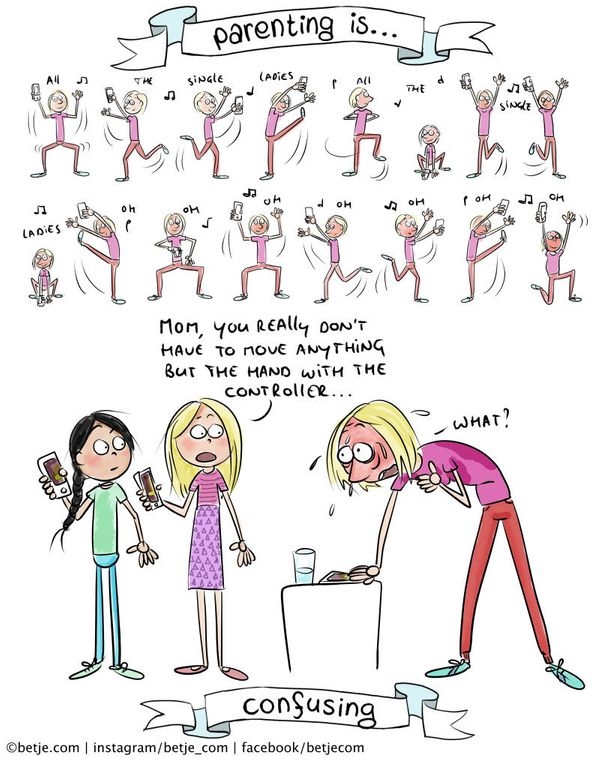 'Parenting Is ...' Comics Showcase The Highs And Lows Of Raising Kids 58de5db72c00002000ff186f