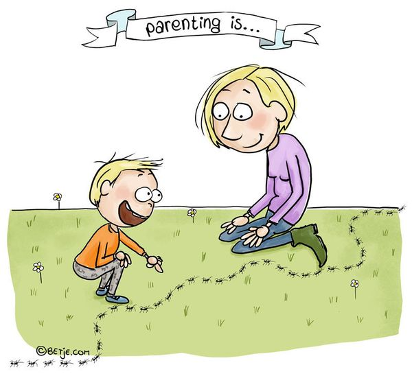 'Parenting Is ...' Comics Showcase The Highs And Lows Of Raising Kids 58de5db72c00002100ff186c