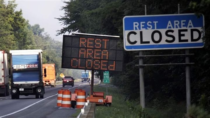 Some states are closing traditional highway rest stops because they don't have the money to maintain them or because the stop
