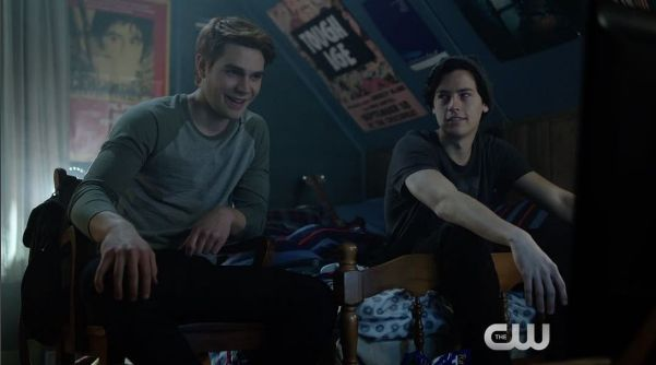 Bros. Future dads. Construction workers. Archie and Jughead.