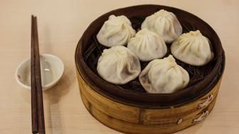 Shanghai soup dumplings at a restaurant in Shanghai. (Photo by James Leynse/Corbis via Getty Images)
