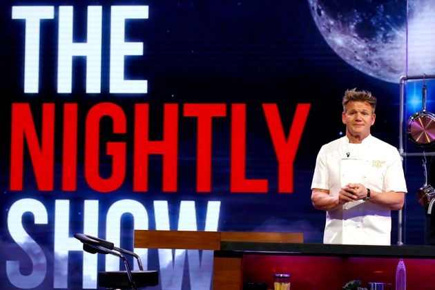 Gordon Ramsay is current host of 'The Nightly