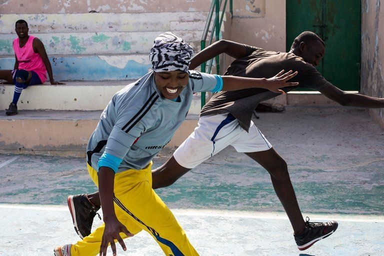 At the height of al-Shabab's hold on Somalia's capital, Mogadishu, a woman playing sports was a punishable offens