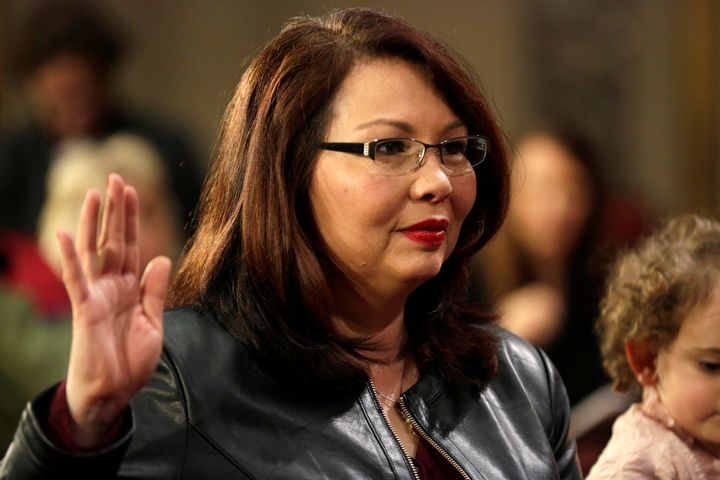 Sen. Tammy Duckworth (D-Ill.) says she can't vote for a Supreme Court nominee who won't even meet with her.