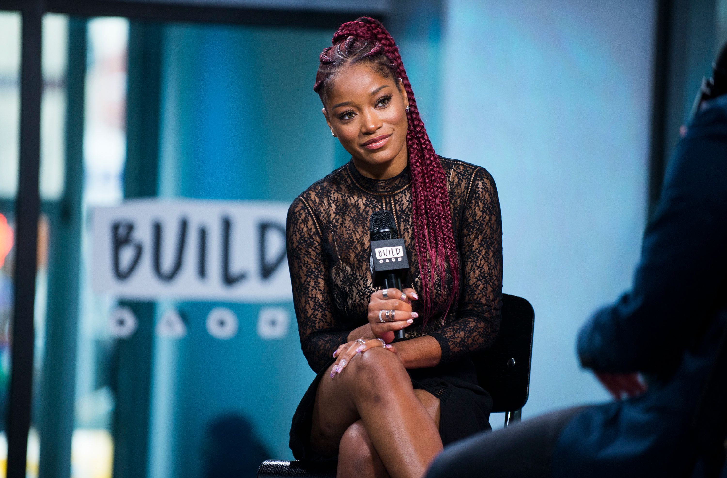 NEW YORK, NY - FEBRUARY 01:  Actress Keke Palmer attends the Build Series Presents Keke Palmer Discussing 'I Don't Belong To You'  at Build Studio on February 1, 2017 in New York City.  (Photo by Jenny Anderson/WireImage)
